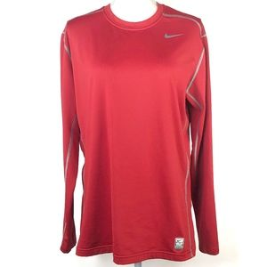 Nike Pro Combat Hyperwarm Fitted Workout Shirt